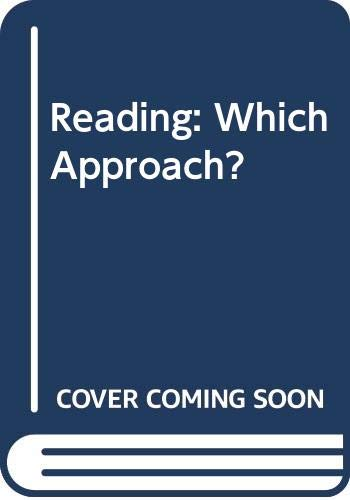 Reading-Which-Approach-Roberts-Geoffrey-Ransford-0340118768