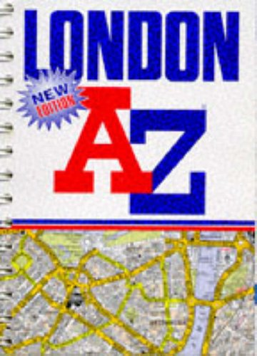 A-to-Z-London-Street-Atlas-by-Geographers-039-A-Z-Map-Company-Spiral-bound-Book