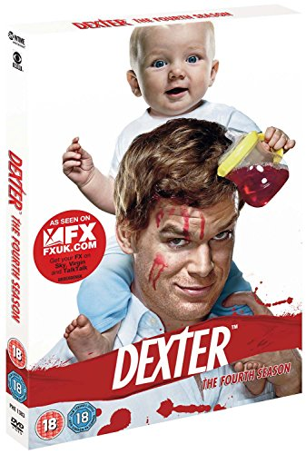Dexter - Season 4 [DVD] -  CD OSVG The Fast Free Shipping 5014437138330