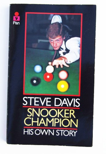Steve Davis: Snooker Champion, Steve Davis Paperback Book The Cheap Fast Free