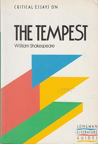 the tempest critical essays murphy Patrick m murphy, author of the tempest: critical essays (shakespeare criticism, 21), on librarything.