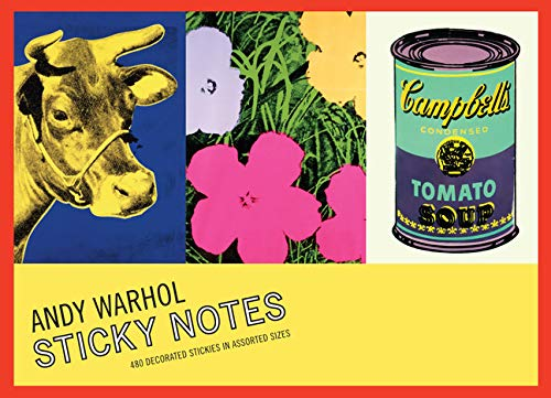 Warhol's Greatest Hits Sticky Notes, Andy Warhol 073533675X