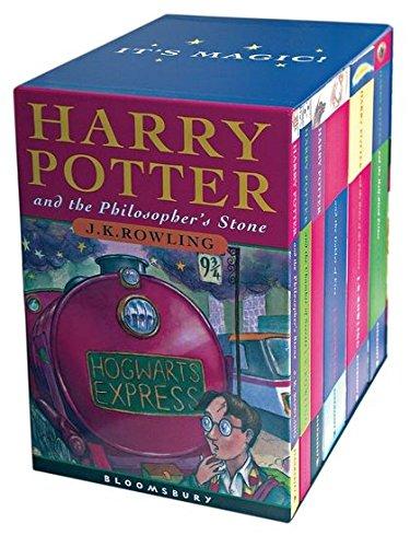 Harry Potter Book Box Set Australia : Harry potter boxed set children s edition rowling j k
