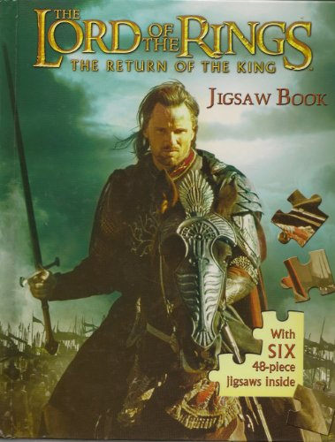 Lord of the Rings the Return of the King Jigsaw Book Large ...