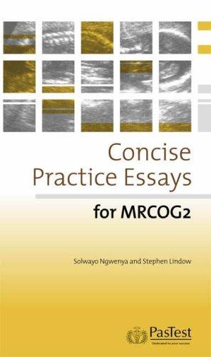 Mrcog essays