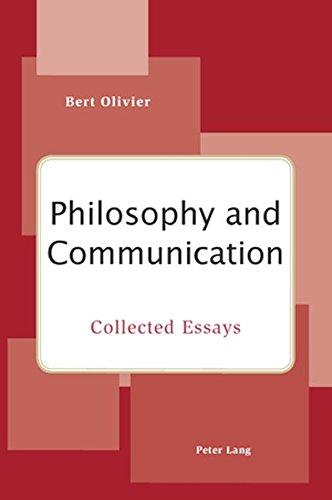 Essays philosophy of communication