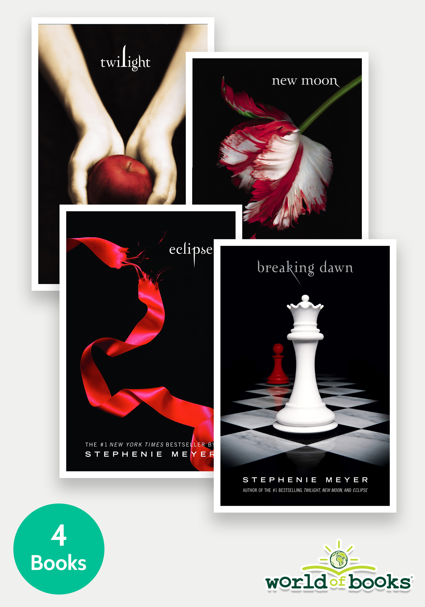 Twilight Saga - 4 Books Bundle