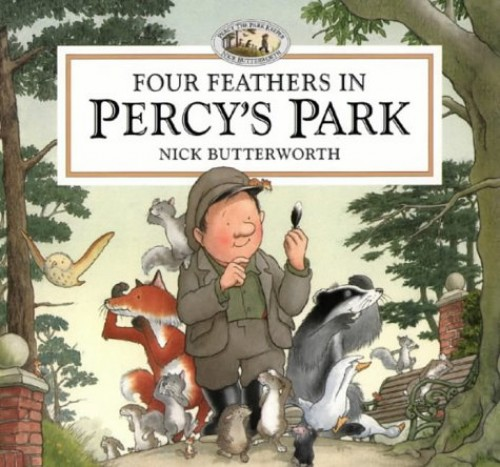 Four Feathers in Percy's Park von Nick Butterworth
