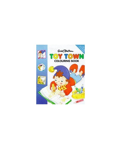 Toytown Colouring Book By Enid Blyton