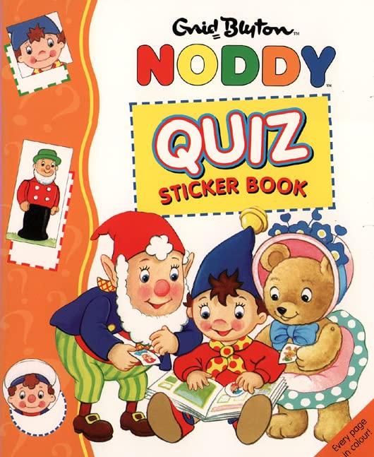 Noddy Quiz Sticker Book By Enid Blyton