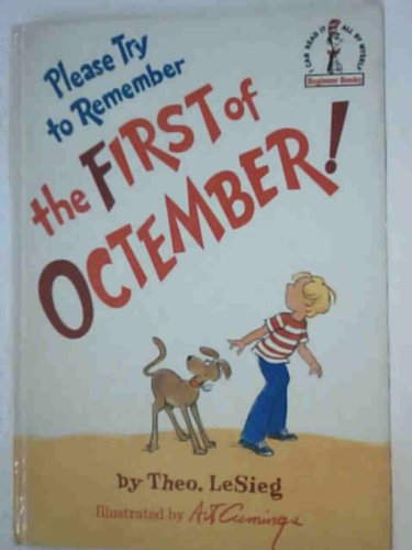 Please Try to Remember the First of Octember (Beginner Series) By Theo Le Sieg