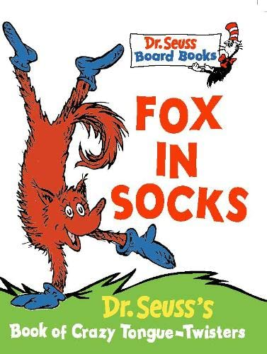 Fox in Socks (Dr. Seuss Board Books) (Learn With Dr. Seuss) By Dr. Seuss