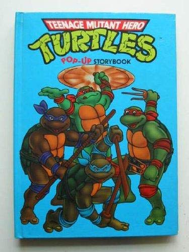 Teenage Mutant Hero Turtles Pop-up Story Book By Illustrated by Chuck Murphy