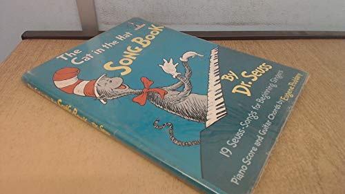 Cat in the Hat Song Book By Dr. Seuss