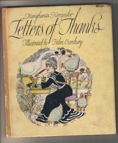 Letters of Thanks By Manghanita Kempadoo