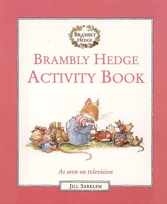 Brambly Hedge Activity Book By Jill Barklem