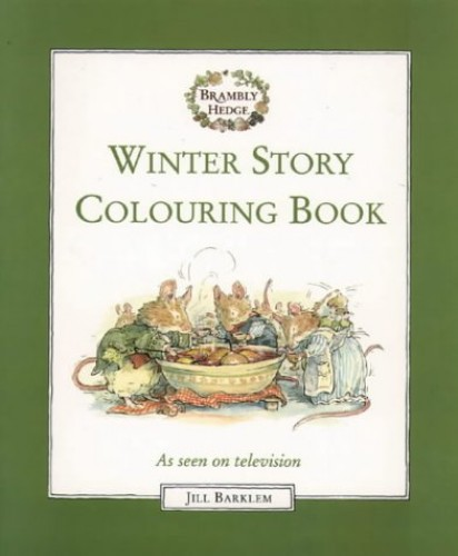 Winter Story Colouring Book By Jill Barklem