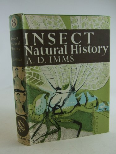 Insect Natural History By A. D. Imms