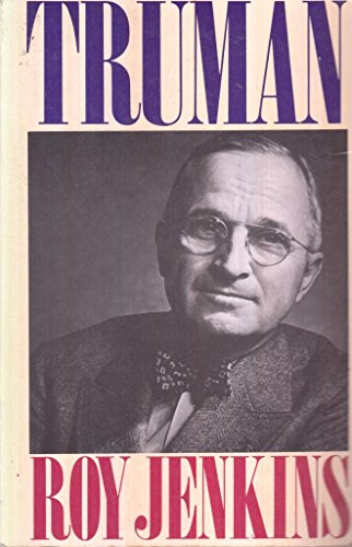 Truman By Roy Jenkins