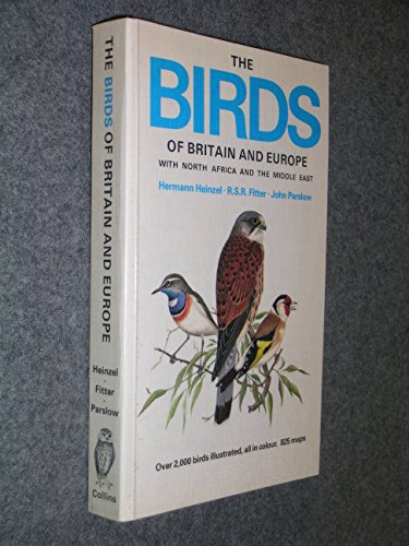 Birds of Britain and Europe with North Africa and the Middle East (Collins Pocket Guide) By Hermann Heinzel