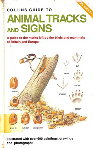 Guide to Animal Tracks and Signs By Preben Bang