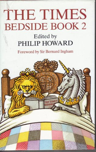 """Times"" Bedside Book By Philip Howard"