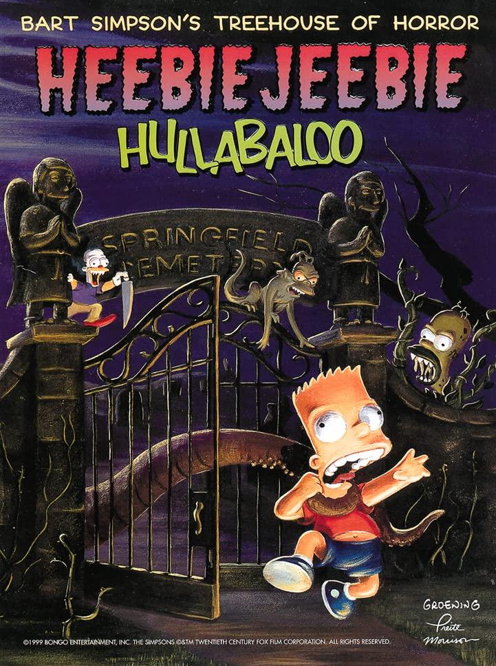 Heebie Jeebie Hullaballoo By Matt Groening