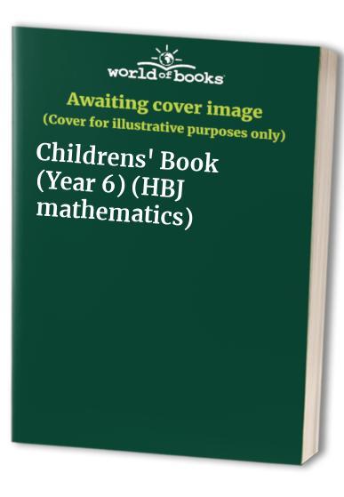 H.B.J. Mathematics By Edited by Daphne Kerslake