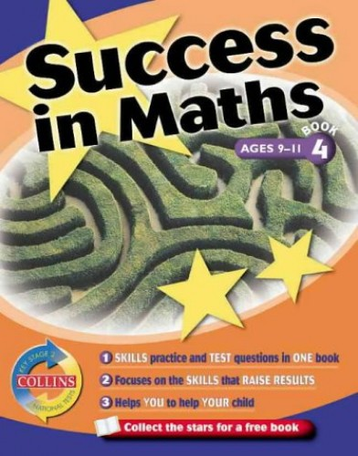 Success In... - Maths Book 4: Key Stage 2 National Tests: Key Stage 2 National Tests Bk. 4 (Collins Study & Revision Guides) By Rowena Onions