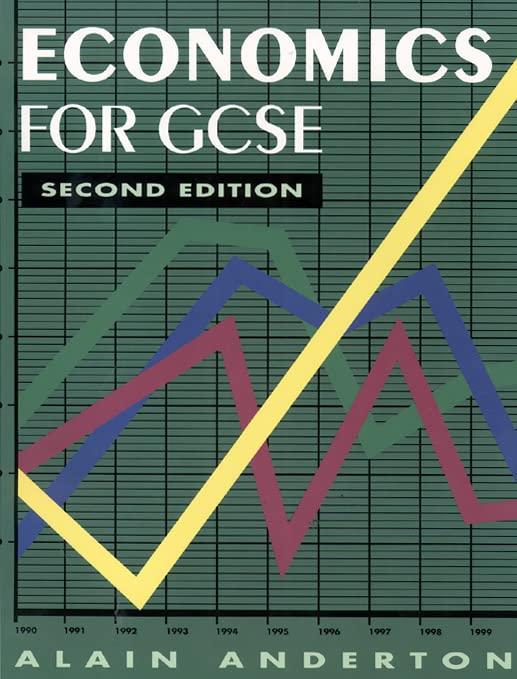 Economics for GCSE By Alain Anderton