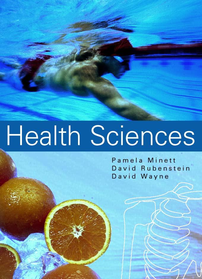 Health Sciences By P.M. Minett