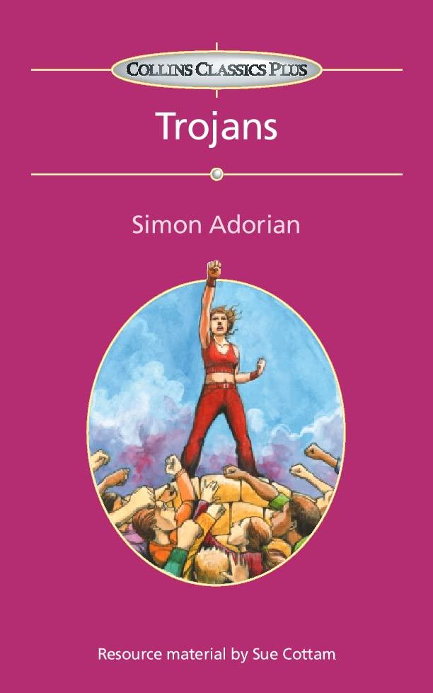 Collins Classics Plus: Trojans by Simon Adorian