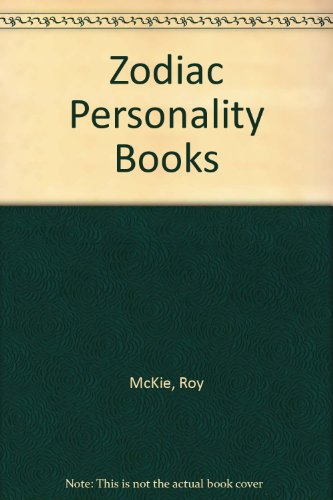 Zodiac Personality Books By Roy McKie
