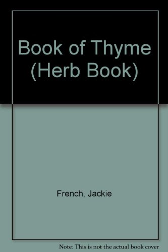 Book of Thyme By Jackie French