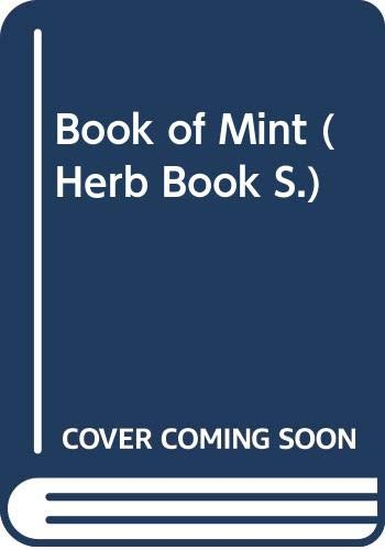 Book of Mint By Jackie French