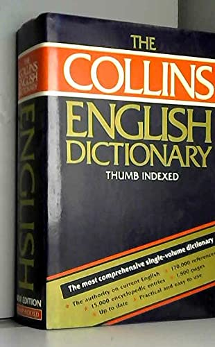 Collins Dictionary of the English Language By Edited by Patrick Hanks