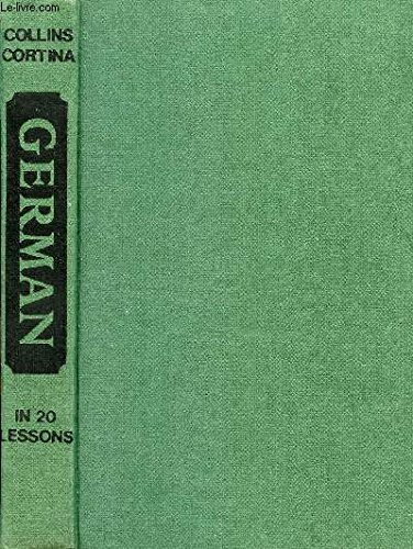 German in Twenty Lessons By Eva C. Lange