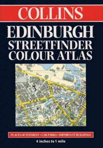 Collins Edinburgh Streetfinder Colour Atlas By Not Known
