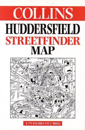 Huddersfield Streetfinder Map By Edited by Mike Cottingham
