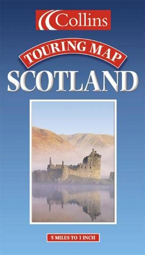 Scotland (Touring Map) By Scottish Tourist Board