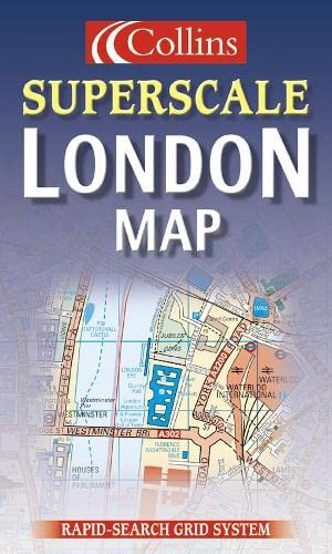 Superscale London Map (Collins British Isles and Ireland Maps) by Created by Collins Publishers