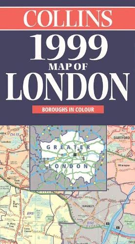 Collins Map of London By Not Known