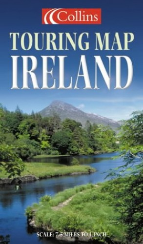 Collins Touring Folded Sheet Map: Ireland By Harper Collins Publishers