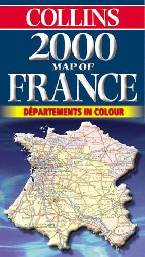 2000 Map of France by Unknown Author