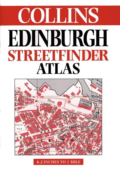 Edinburgh Streetfinder Atlas By Not Known