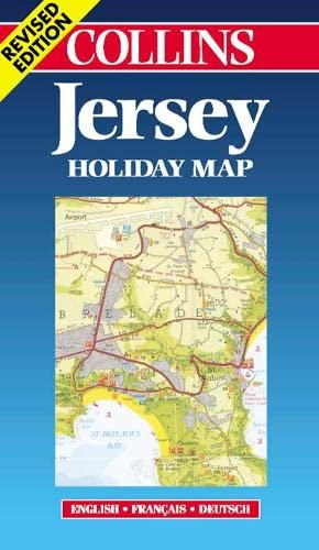 Jersey (Holiday Map) (Collins Holiday Map) By Bartholomew