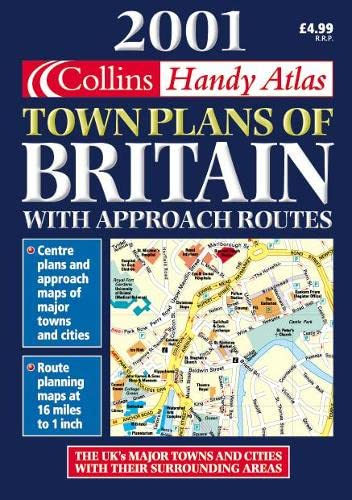 Handy Town Plan Atlas Britain By Not Known
