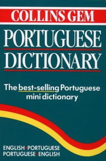 Portuguese Dictionary (Collins Gem) (Collins Gems) by Harper Collins Publishers