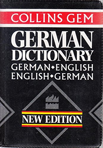 Collins Gem German Dictionary by Harper Collins Publishers