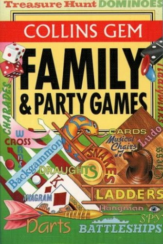 Collins Gem – Family and Party Games (Collins Gem Guides) By The Diagram Group